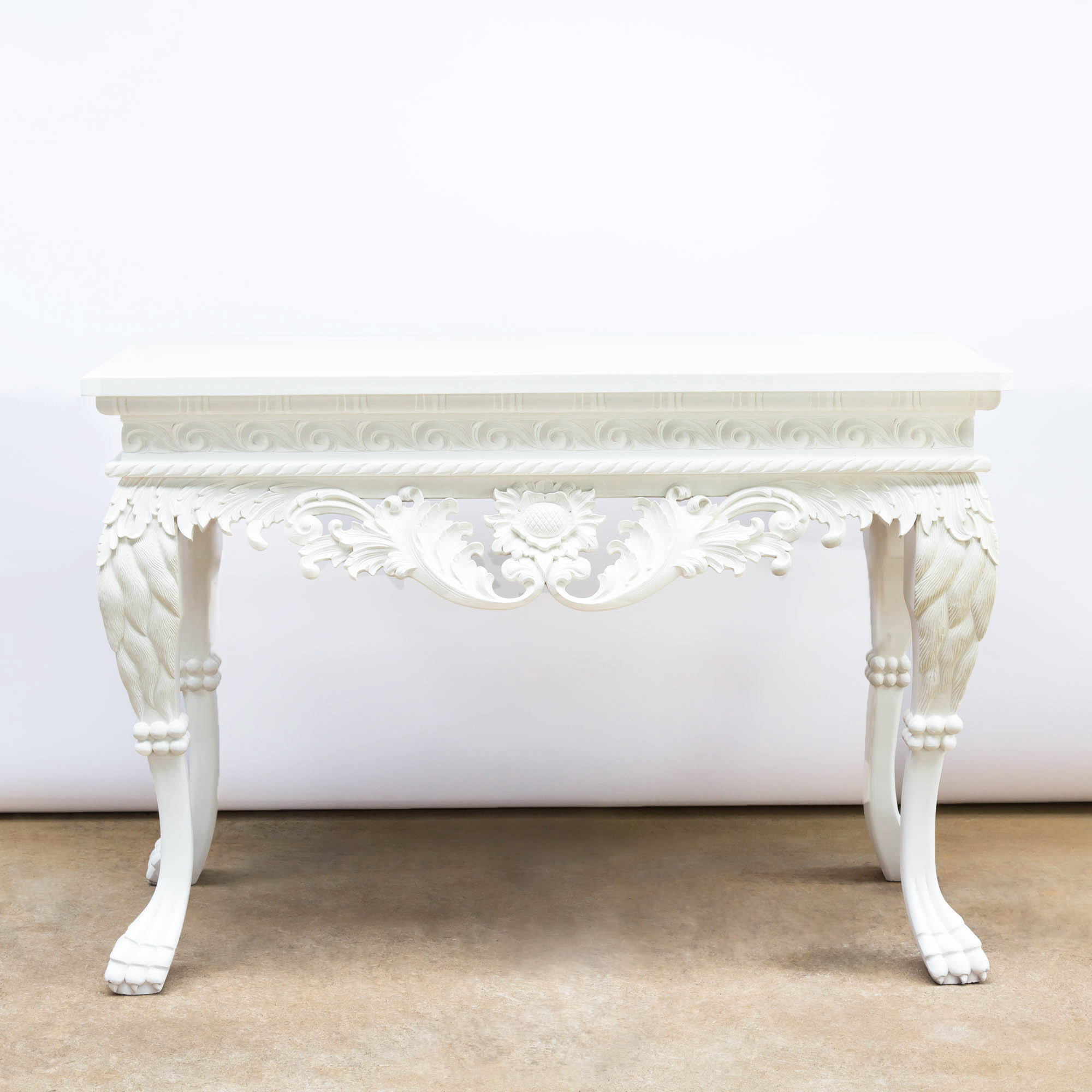 Irish Georgian Console Table